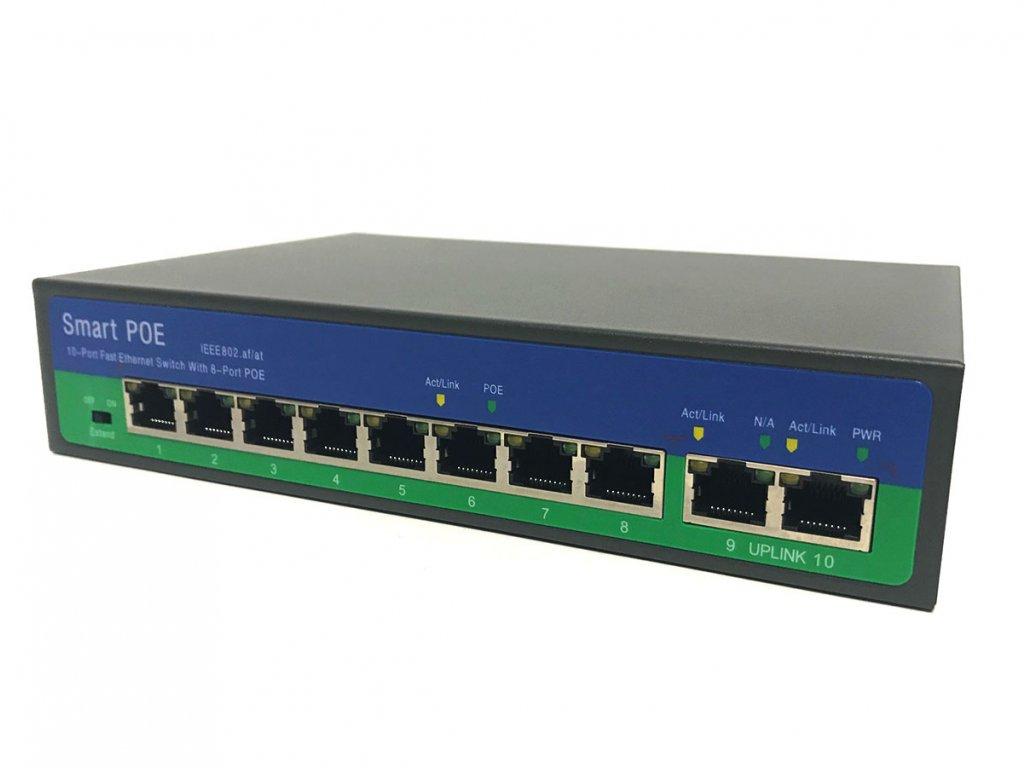 44162 3 securia pro poe switch 8ch 2ch n2082p