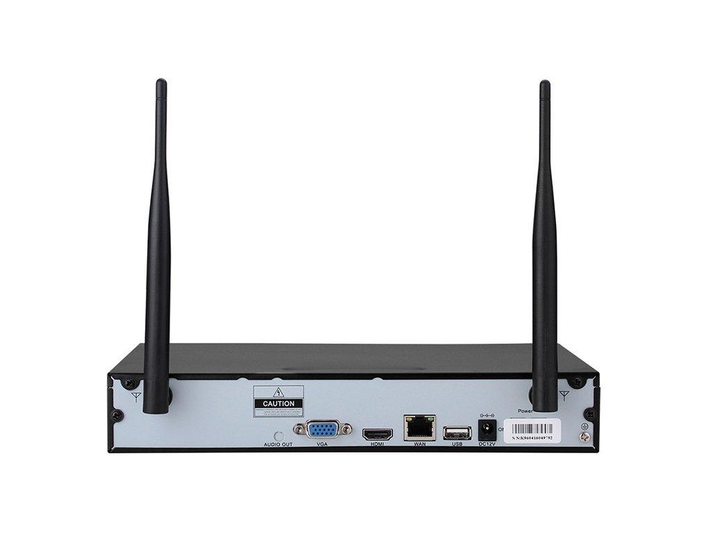Securia Pro WIFI set 2MPx WIFI8CHV1-B (Nahrávanie bez disku)