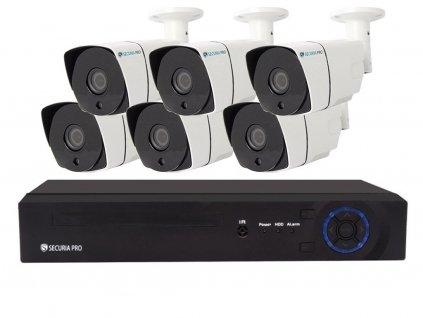 Securia Pro IP set 3MPx NVR6CHV3-W
