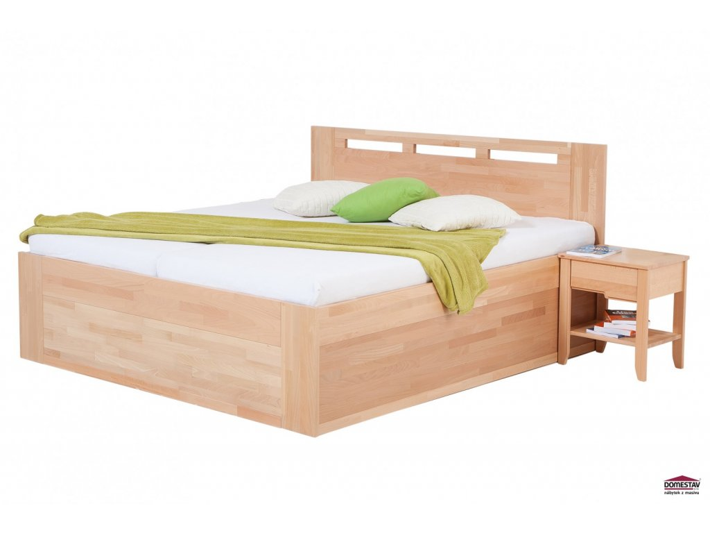 65a0793db89e manzelska postel valencia senior s uloznym prostorem 180 cm buk cink hlavni  1600x1066 product popup