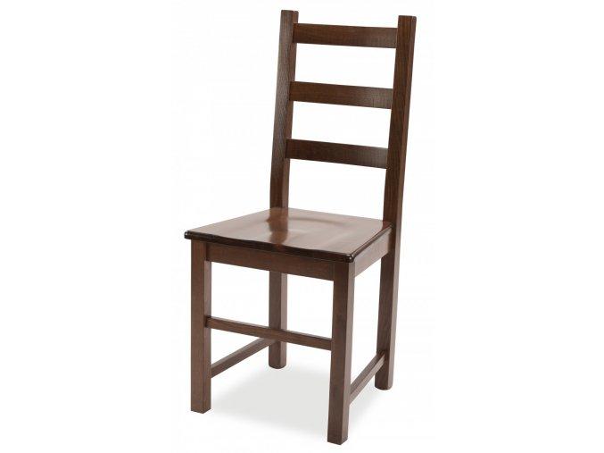 Židle RUSTICA (MI-KO DŘEVO BÍLÁ)