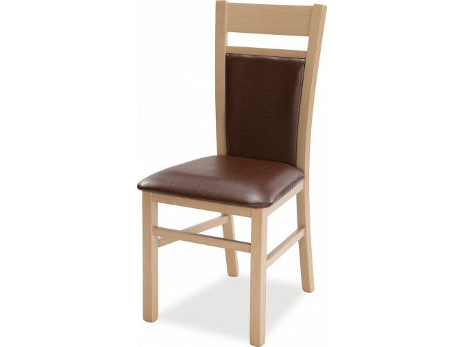 Kuchyňská židle DANIEL 2 I.sk (Mi-ko 1. sk Cabora arancio)