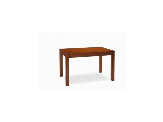 jídelní stůl CLASIC DÝHA 18 mm 120 rozkládací (MI-KO DŘEVO BÍLÁ)