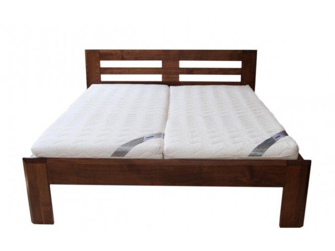 manželská postel JANA BUK 120,140 (MORÁČEK moření buk přírodní)