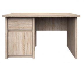 NORTON PC stůl 1D1S/120 dub sonoma