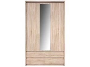 NORTON skříň se zrcadlem 3D4S