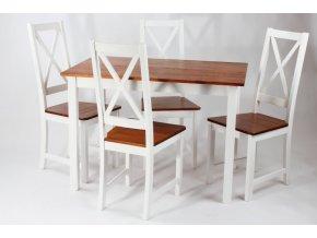 SET-165 4x židle +stůl