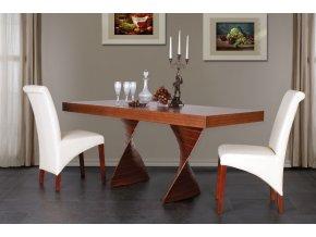 Jídelní stůl FREDO/140x80+40cm/