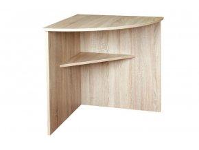 Rohový stůl 70x70 OFFICE C543