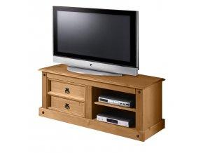TV stolek CORONA borovice vosk 161017