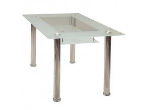 Jídelní stůl VENEZIA 150 x 90 cm 3007 kov/sklo