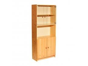 Knihovna 851 borovice lak