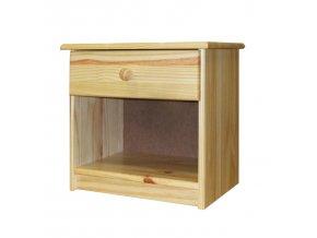 Noční stolek 8812 borovice lak