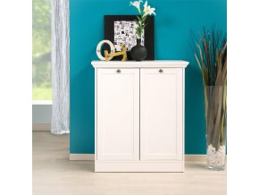 Prádelník 2 dveře LANDWOOD 2T FN1596 bílý