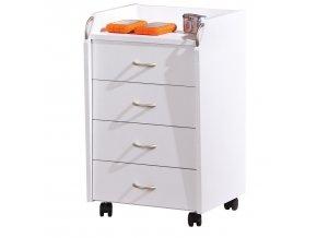Kontejner 4 zásuvky PRONTI ID13300100 bílý