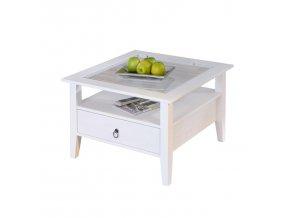 PROVENCE konferenční stolek ID20901510 borovice bílý lak