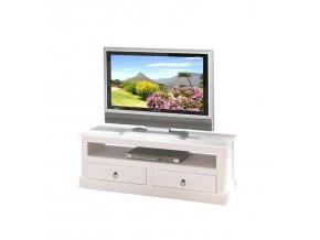 PROVENCE 3 TV stolek ID20901530 borovice bílý lak