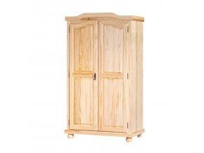 GENF šatní skříň ID30500100 borovice lak