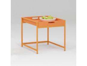 Servírovací stolek ANNIKA oranžový T640001R