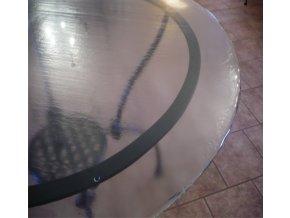 Deska pečené sklo - kruh