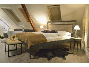 Kovová postel ALMERIA