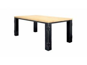 Kovový stůl LANGEAIS jídelní