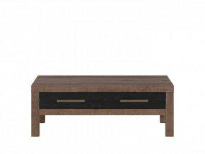 BALIN LAW2S/110 konferenční stolek dub monastery/dub černý