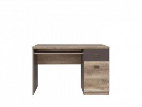 MALCOLM BIU1D1S psací stůl dub canyon monument/šedý wolfram