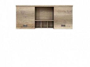 MALCOLM SFW2D závěsná skříňka dub canyon monument/šedý wolfram