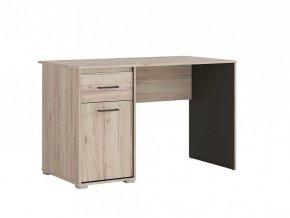 RONSE BIU/120 psací stůl dub san remo světlý/šedý wolfram