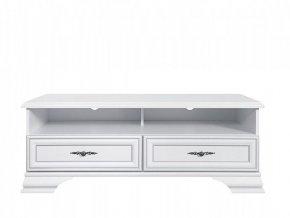 IDENTO RTV2S tv stolek bílá