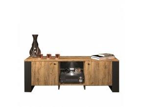 wood tv st 2d 140