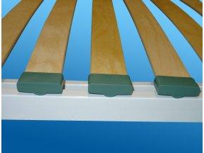 Sklápěcí postel ve skříni - jednolůžko s roštem SKL1VN š.90cm (KZK Borovice 1770)