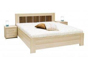 Manželská postel AURA (MIKULIK buk)
