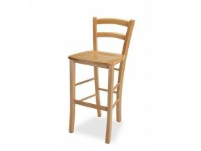 kuchyňská židle VENEZIA bar masiv (dřevo MI-KO b+o+t+o+th buk)