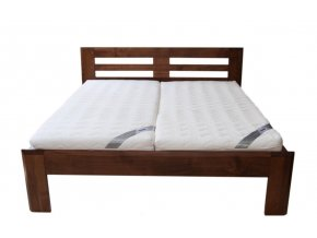 manželská postel JANA BUK 160,170,180 (MORÁČEK moření buk přírodní)