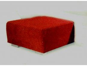 Taburet Amáto TX kůže (AKSAMITE kůže Florida 517)
