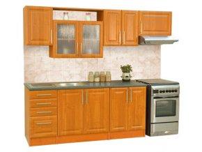 Kuchyňská linka BRAVO 8 240cm (MIKULIK kuchyň BRAVO 8,10 buk)