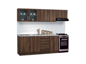 Kuchyňská linka BRAVO 10 240cm (MIKULIK kuchyň BRAVO 8,10 buk)