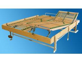 Sklápěcí postel ve skříni - dvojlůžko s roštem SKL2VKPP š.180cm (KZK Borovice 1770)