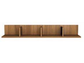 Závěsná polička N-116 (Materiál VNP Buk)