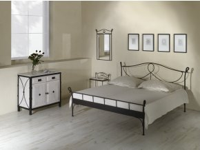 luxusni kovana postel modena 1