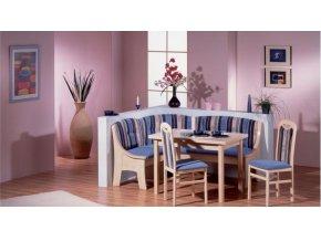 Kuchyňská rohová lavice DORTMUND B5 (Iktus 118)