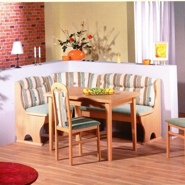 Kuchyňská rohová lavice MADRID B2
