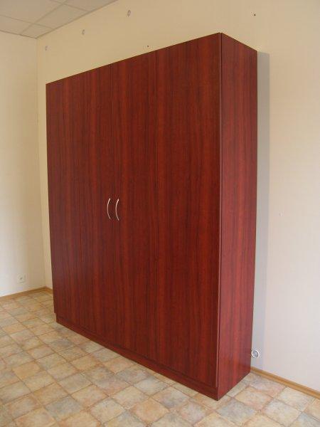 Sklápěcí postel ve skříni - dvojlůžko s roštem SKL2VR š.180