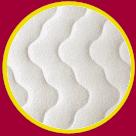 polštář z líné pěny MARTIN froté