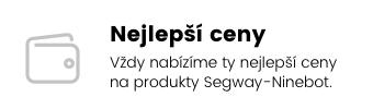 Nejlepší ceny | Vždy nabízíme ty nejlepší ceny na produkty Segway-Ninebot.