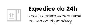 Expedice do 24h | Zboží skladem expedujeme do 24h od objednávky.