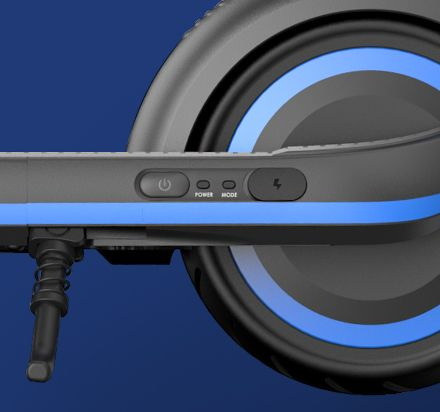 multifunkční tlačítko eKickscooter E10