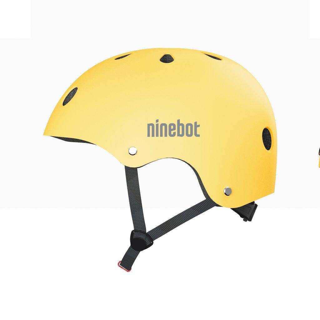 Ninebot Yellow helmet side